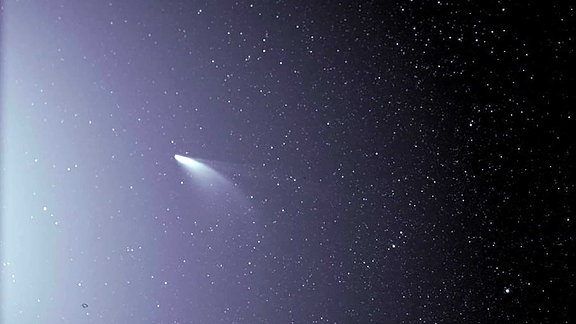 Bild des Kometen Neowise von Bord der Nasa-Sonnensonde Parker am 5. Juli 2020
