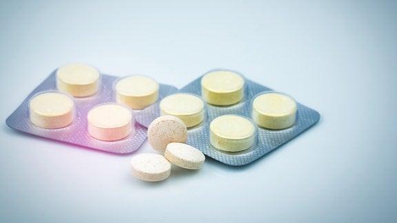 Tabletten in einer Verpackung