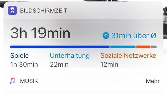 Online-Zeit