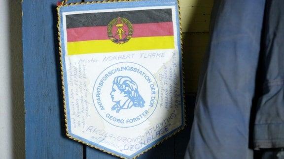 Ozonforschung in der DDR, ein Wimpel