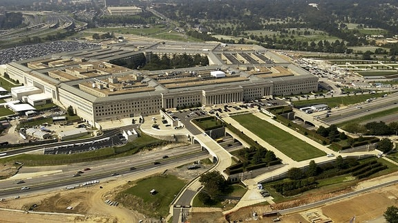 Luftbild des Pentagon