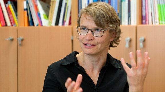 Isabell Wartenburger, Professorin für Patholinguistik und Neurokognition der Sprache an der Uni Potsdam, im Portrait.