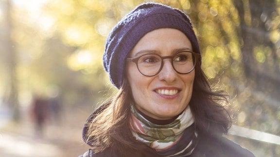 Die Soziologin Sarah Pritz