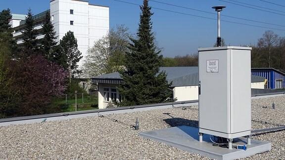 Pollenmonitor am UNIKA-T