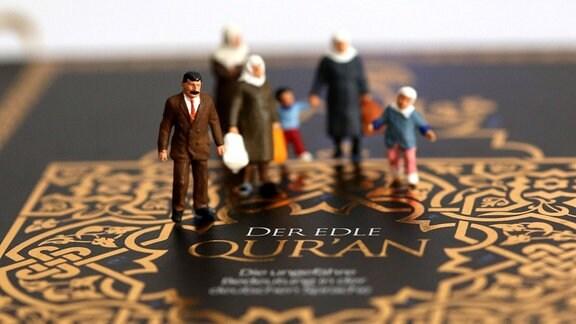 Figuren - muslimische Familie