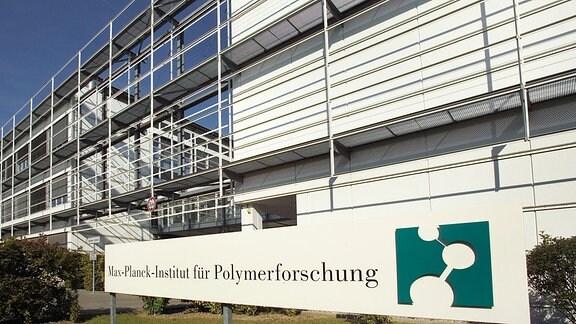 Gebäude des Max-Planck-Institut für Polymerforschung.
