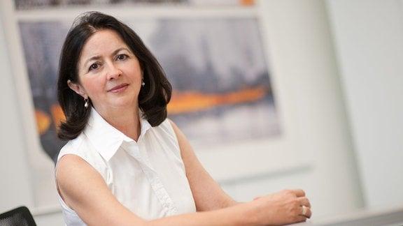 Professor Dr. Gudrun Rappold, Direktorin der Abteilung Molekulare Humangenetik am Institut für Humangenetik Heidelberg