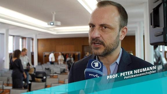 Politikwissenschaftler Peter Neumann