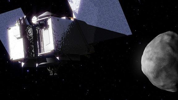 Ankunft der Raumsonde Osiris Rex am Asteroiden Bennu