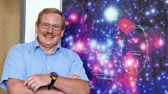 Reinhard Genzel, Direktor Max-Planck-Institut für extraterrestrische Physik in Garching.