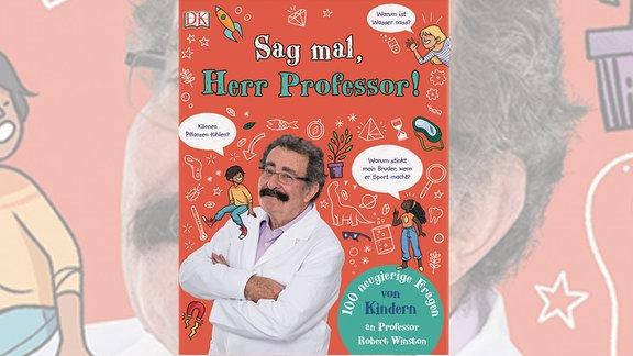 Buchcover Sag mal Herr Professor