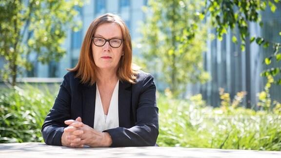 Sarah Gilbert ist Forscherin der Universität Oxford und war an der Entwicklung des Astrazeneca Impfstoffs gegen Corona beteiligt.