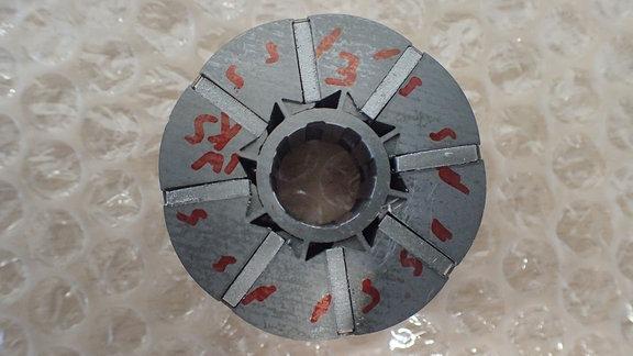 Der Magnet eines Motors