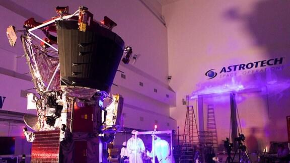 Parker Solar Probe wird getestet.
