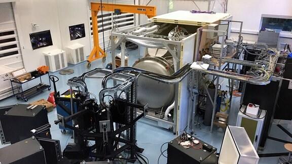 Spektograph Espresso der Universität Genf