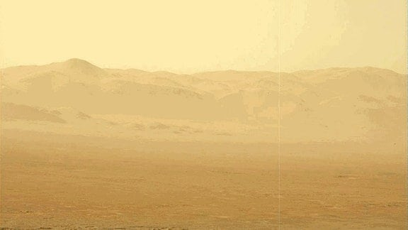 Staubsturm auf dem Mars
