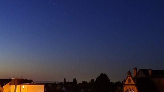 Sternenhimmel über Kassel
