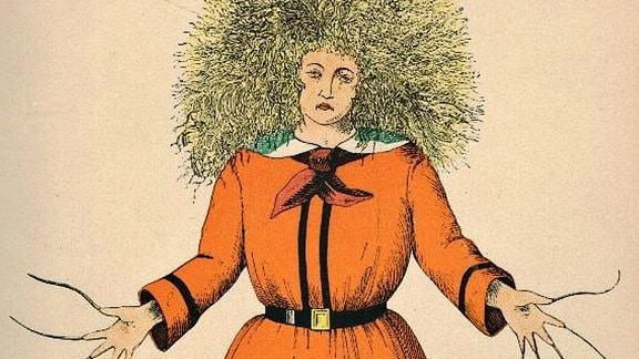 Der Struwwelpeter von Heinrich Hoffmann. Hier  in der bereits 400. Ausgabe von 1917.