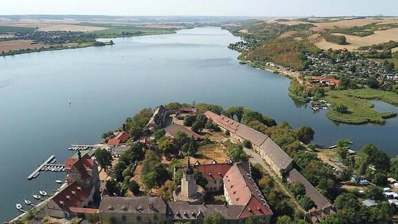 Süßer See Luftbild
