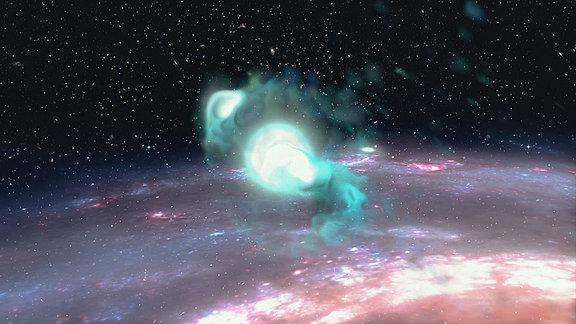 Superschneller Stern