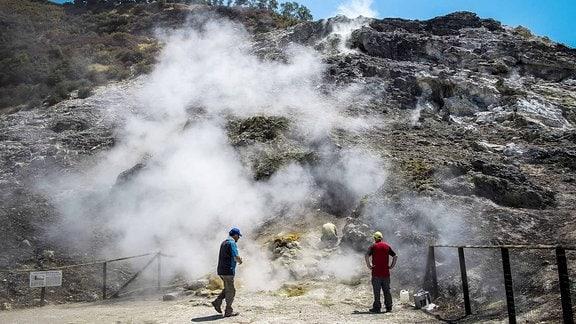 Ein Supervulkan in Italien