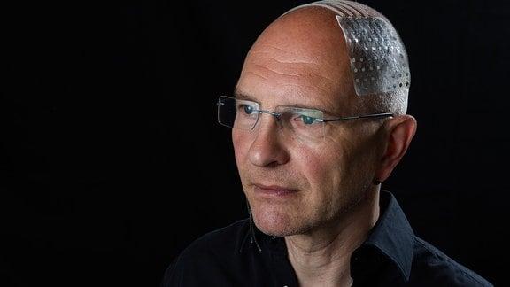 Biomediziner Thomas Stieglitz im Portrait.