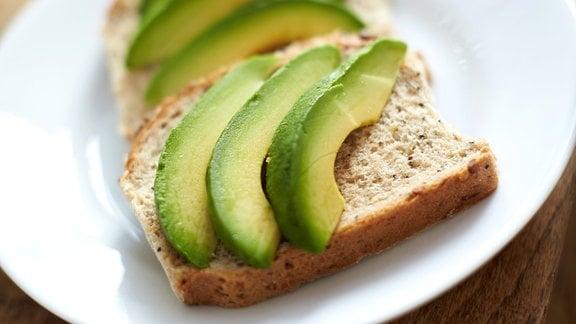 Toastbrot mit Avocado