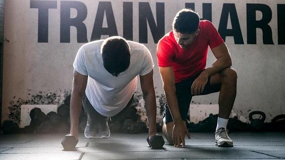 Trainer Sportler
