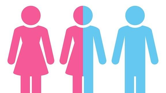 Grafik zum Thema Gender Transsexuell