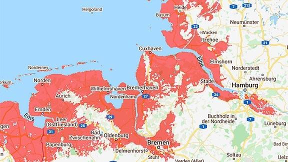 Screenshot Nordsee