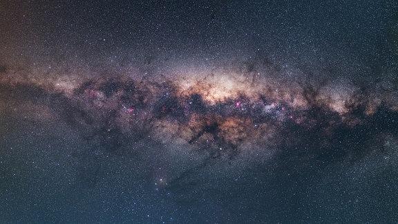 Ein Foto der gesamten Milchstraße