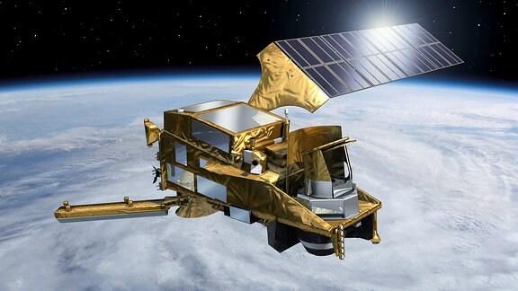Ein MetOp Satellit der 2. Generation