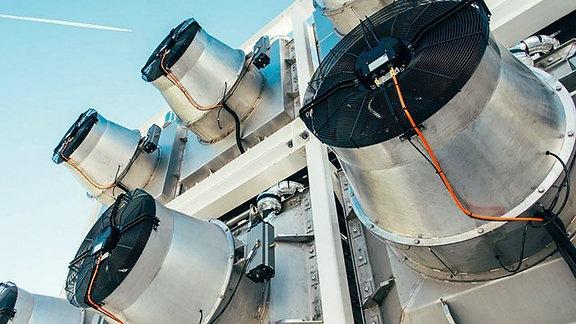 Modulare Anlagen zur Abscheidung und Umwandlung von CO2.