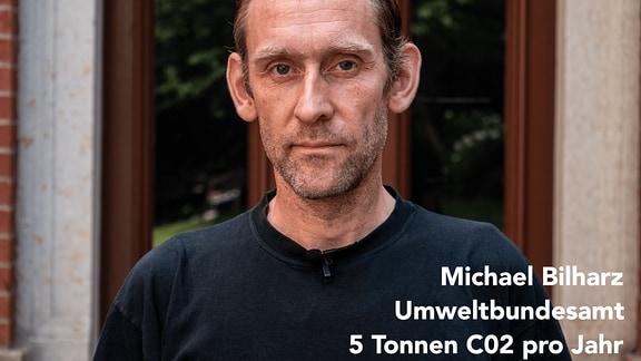Michael Bilharz, Wissenschaftlicher Mitarbeiter am Umweltbundesamt blickt in die Kamera