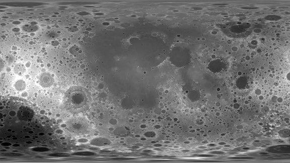 Hochauflösende Höhenkarte vom CGI Moon Kit