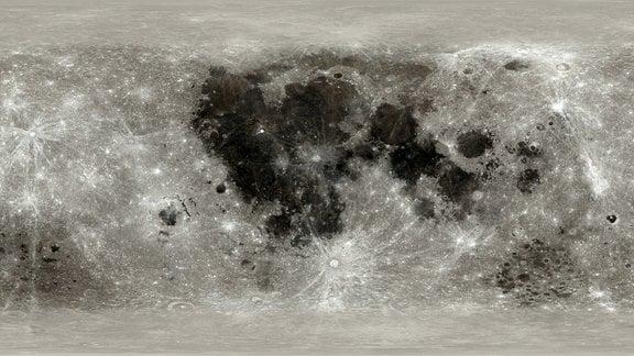 Hochauflösende Mondkarte vom CGI Moon Kit