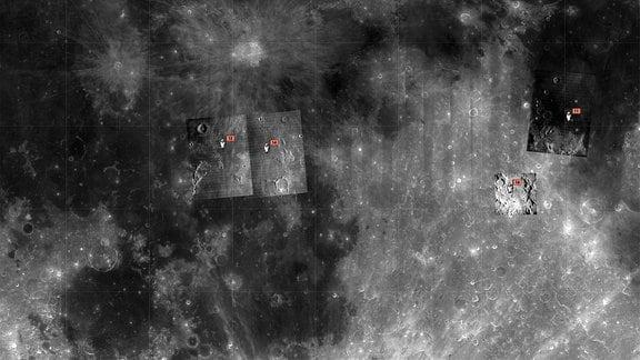Screenshot von Google Moon