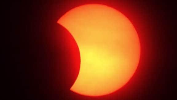 Die totale Sonnenfinsternis über Nordamerika