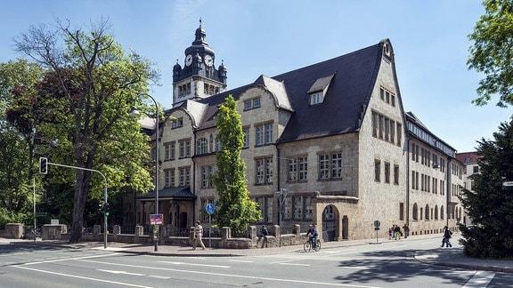 Hauptgebäude, Friedrich-Schiller-Universität, Jena, Thüringen, Deutschland