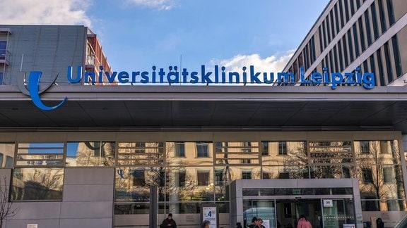 Das Universitätsklinikum in der Liebigstraße im Südosten von Leipzig