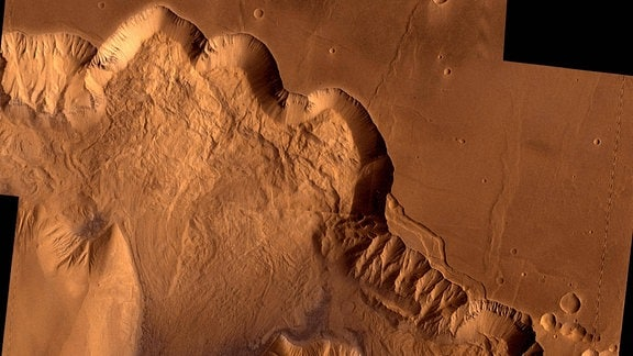 Valles Marineris auf dem Mars