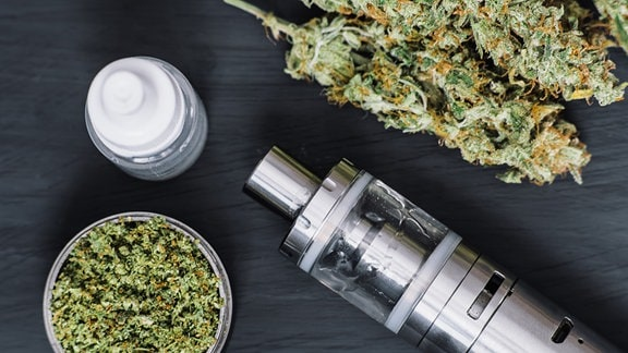 Vaping Marihuana