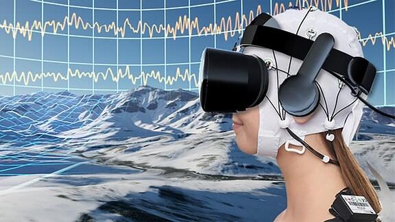 VR Brille Therapieansatz gegen chronische Schmerzen