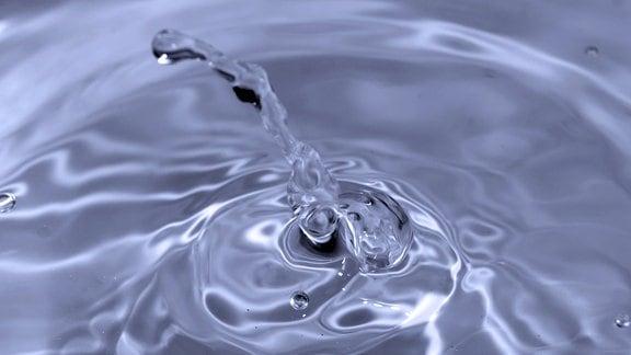 Ein Wassertropfen
