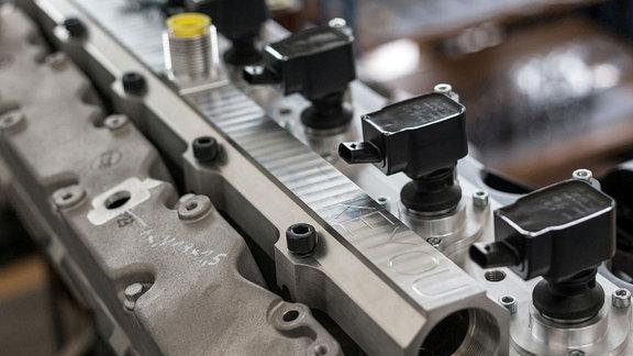 Prototypmotor DEUTZ TCG 7.8 mit KEYOU-inside Technik