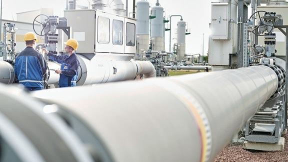 Gasdruckmess- und Regelstrecke Bad Lauchstädt