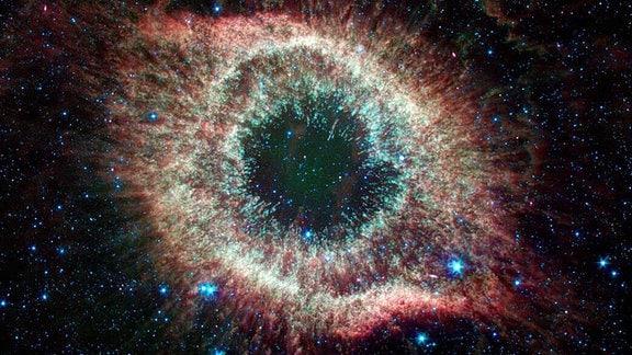 Blick ins Weltall