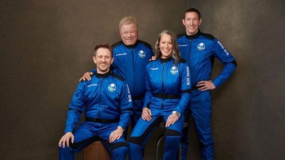 William Shatner, Audrey Powers,  Chris Boshuizen, Glen de Vries