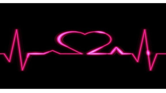 Kardiogramm der Liebe