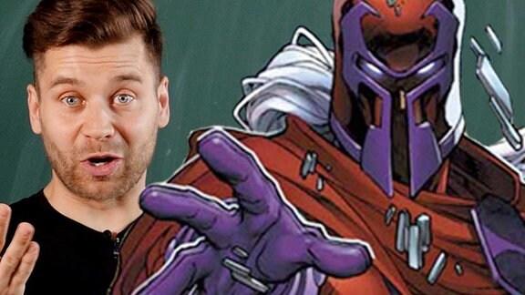 Collage und Illustration von Magneto.